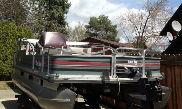 Pontoon Boat Restoration Video